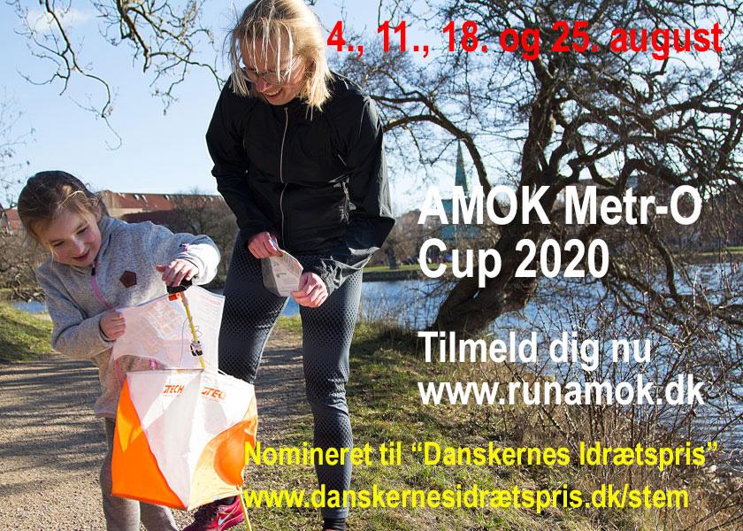 AMOK Metr-O Cup 2020 - Tilmeld dig her